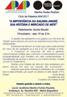 A IMPORTÂNCIA DA GALERIA ANDRÉ, SUA HISTÓRIA E MERCADO DE ARTE