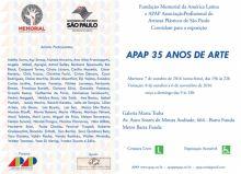 APAP 35 anos de Arte