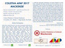 COLETIVA APAP 2017 - MACKENZIE